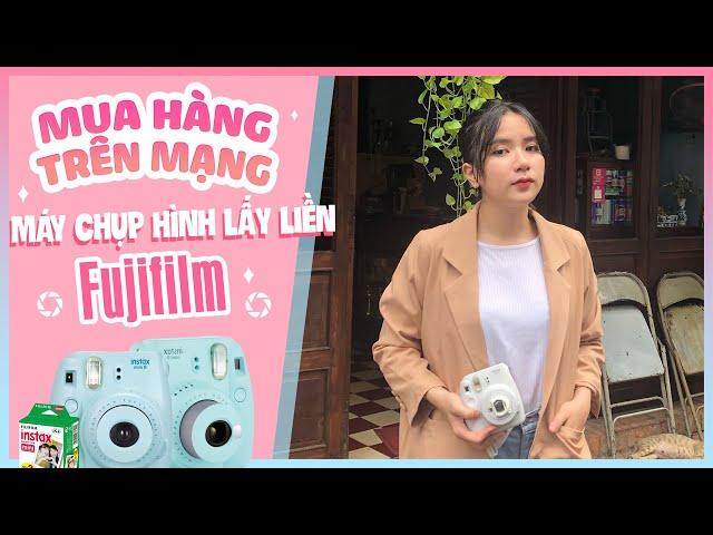 [Mel TV] [MUA HÀNG TRÊN MẠNG] Đặt Thử Máy Chụp Hình Lấy Liền Fujifilm Instax SIêu Cute Và Cái Kết
