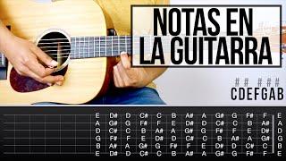 Notas en La Guitarra - Aprende Guitarra #11