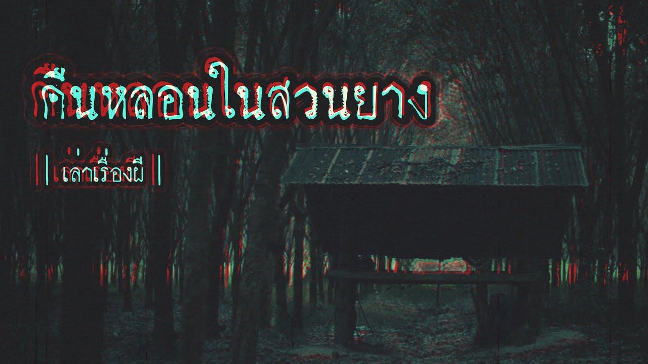 เล่าเรื่องผี EP.138 | คืนหลอนในสวนยาง