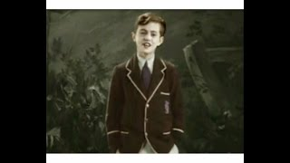 Video: Graham Payn, boy soprano, sings Meadowsweet, 1931, Pathe recording