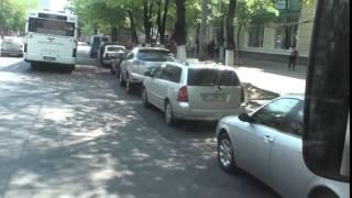 15 mașini parcate ILEGAL chiar lângă Ministerul de Interne