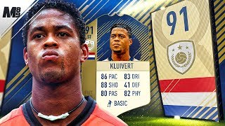 FIFA 18 PRIME KLUIVERT REVIEW | 91 PRIME KLUIVERT PLAYER REVIEW | FIFA 18 ULTIMATE TEAM