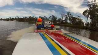 Top Gun - 2012 Mildura 100 Dash 4 Cash - Water Ski Racing