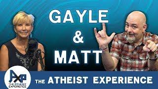 Atheist Experience 23.39 with Matt Dillahunty & Gayle Jordan