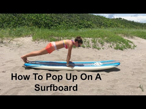 How To Pop Up On A Surfboard | Surf Training Factory