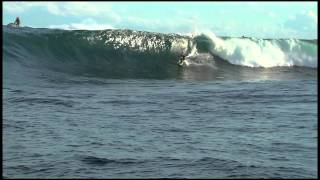 Michael Brennan 2011 XXL Ride of the Year Entry at Shipstern Bluff