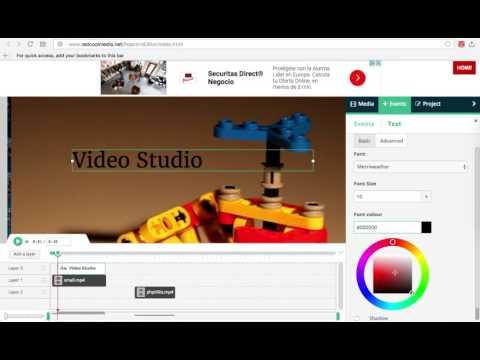 Editor De Vídeo Videostudio