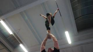 Titans Berlin Cheerleader bei der PGT Pataman Gym Time