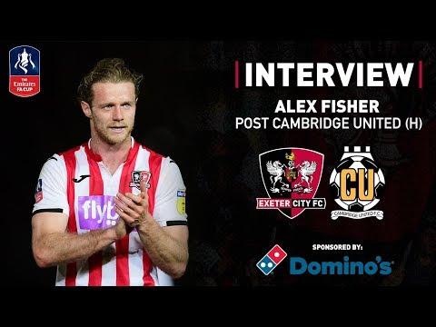💬 Alex Fisher Post City 1 Cambridge United 0 | Exeter City Football Club