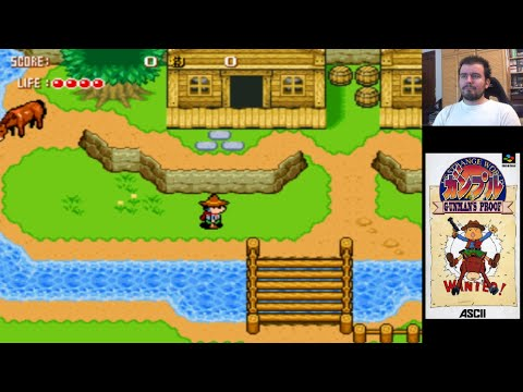 Gunman´s Proof (SNES) - The Legend of Zelda con pistolas || Gameplay en Español