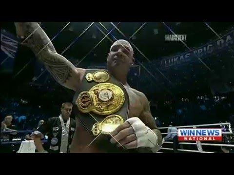 Lucas Browne wins WBA Heavyweight Title