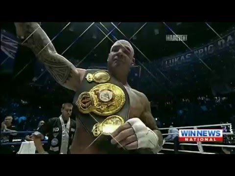 Lucas Browne wins WBA Heavyweight Title