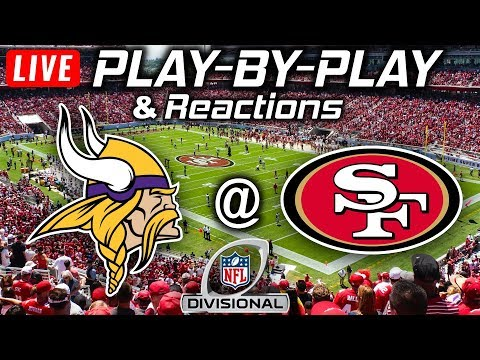 Vikings Vs 49ers | Live Play-By-Play & Reactions