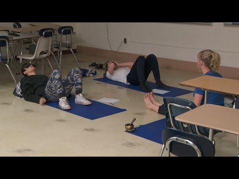 A Central Ohio school district offers yoga as an alternative to detention