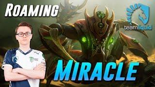 Miracle Roaming Sand King - Dota 2 Pro MMR Gameplay