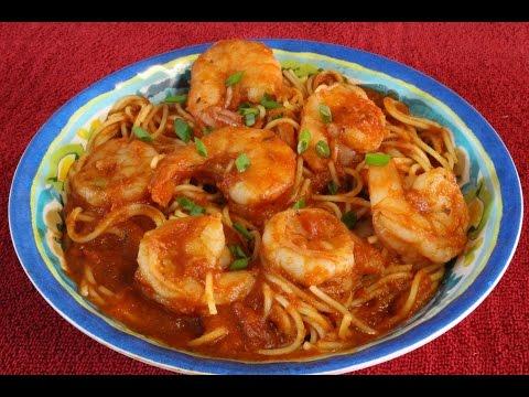 Best Easy Shrimp Spaghetti~Fast And Easy Shrimp Pasta Recipe