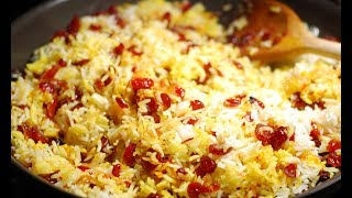 Saffron Rice / How to make Saffron Rice