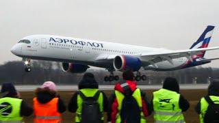 Airbus A350-900 Аэрофлот первые рейсы