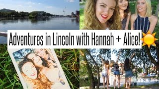 VLOG: Adventures in Lincoln with Hannah + Alice!!