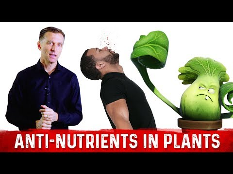 Plants Do Not Like to be Eaten: Thus the Anti-Nutrients