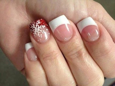 White Tip Nail Designs - White Tip Nail Designs - YouTube