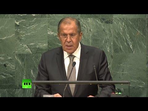 Выступление Лаврова на Генеральной Ассамблее ООН
