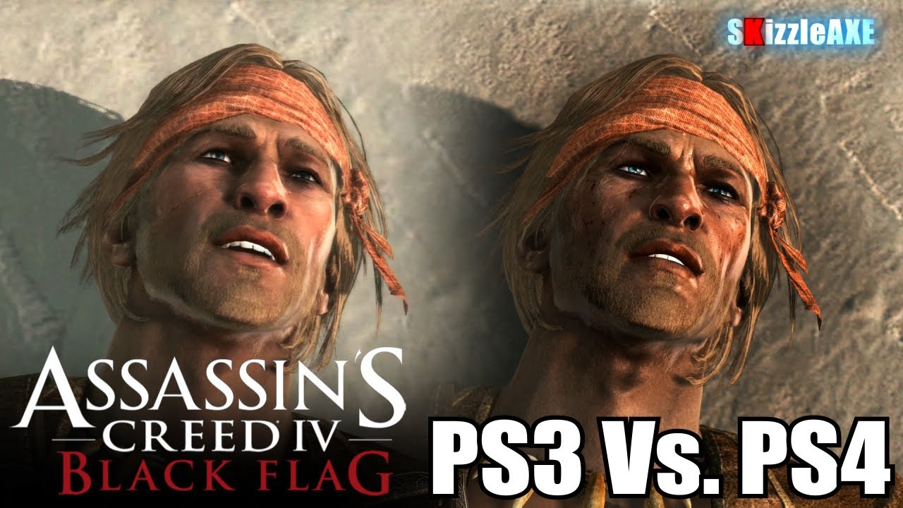 Assassin S Creed 4 Black Flag Ps3 Vs Ps4 Graphics Comparison