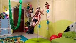 Pole Dance (Taniec Na Rurze) Dla Początkujących: Nauka Podstawowych Figur - Bliźniak (Gemini)