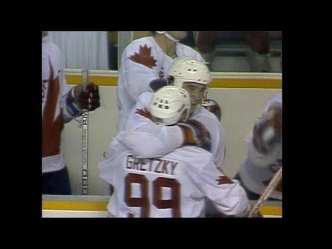 Wayne Gretzky/Mario Lemieux Highlights - 1987 Canada Cup
