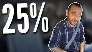 E os 25%? Tem como melhorar !?