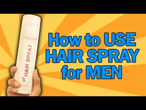 How to Use Hairspray for Men