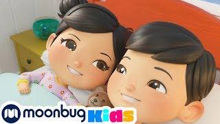 Bedtime Routine For Kids (Bedtime Stories) | ABCs 123s | Kids Videos | Moonbug Kids After School