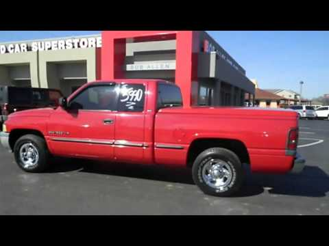 1998 dodge ram 1500 bob allen motor mall danville ky 40422 youtube. Black Bedroom Furniture Sets. Home Design Ideas