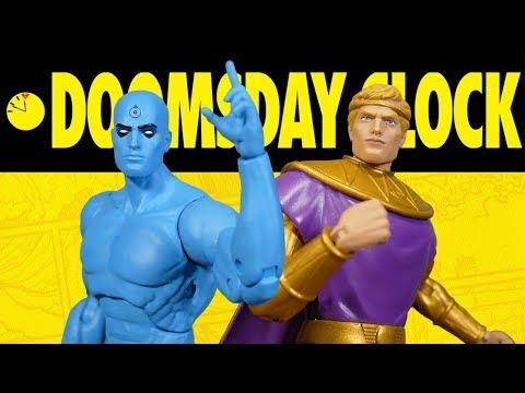 DC Collectibles Doomsday Clock  Dr Manhattan & Ozymandias Action Figure 2 Pack Review