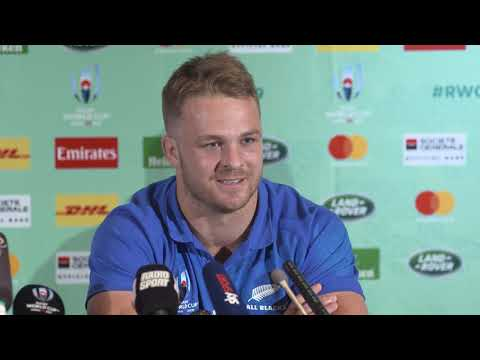 Press Conference with Steve Hansen and Sam Cane