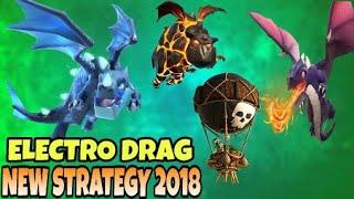 Electro Dragon + Dragon : Elctro Ladrag Loon New Th9 Strategy|| Clash Of Clans|| Dipankar Gaming