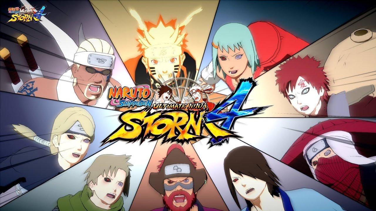 naruto shippuden ultimate ninja storm 4   jinchûriki /team