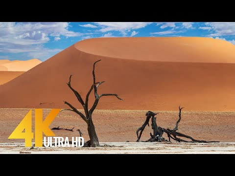 Spectacular Namibia And Botswana In 4K UHD - Discovering The Deserts - African Relax Video