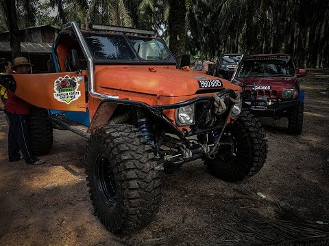 Tropical Forest Challenge 2016 Site Recce