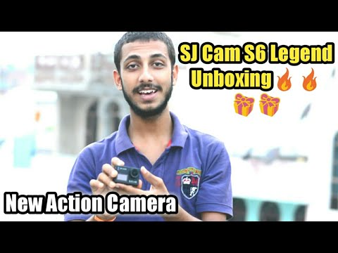Camera From Youtube Money | SJ Cam S6 Legend unboxing
