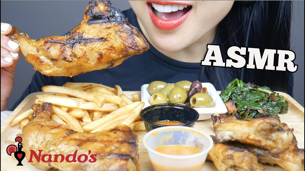 Asmr Nando S Grill Chicken Eating Sounds Minimal Talking Sas Asmr Youtube She has only disclosed this name and its full form remains unrevealed. asmr nando s grill chicken eating sounds minimal talking sas asmr