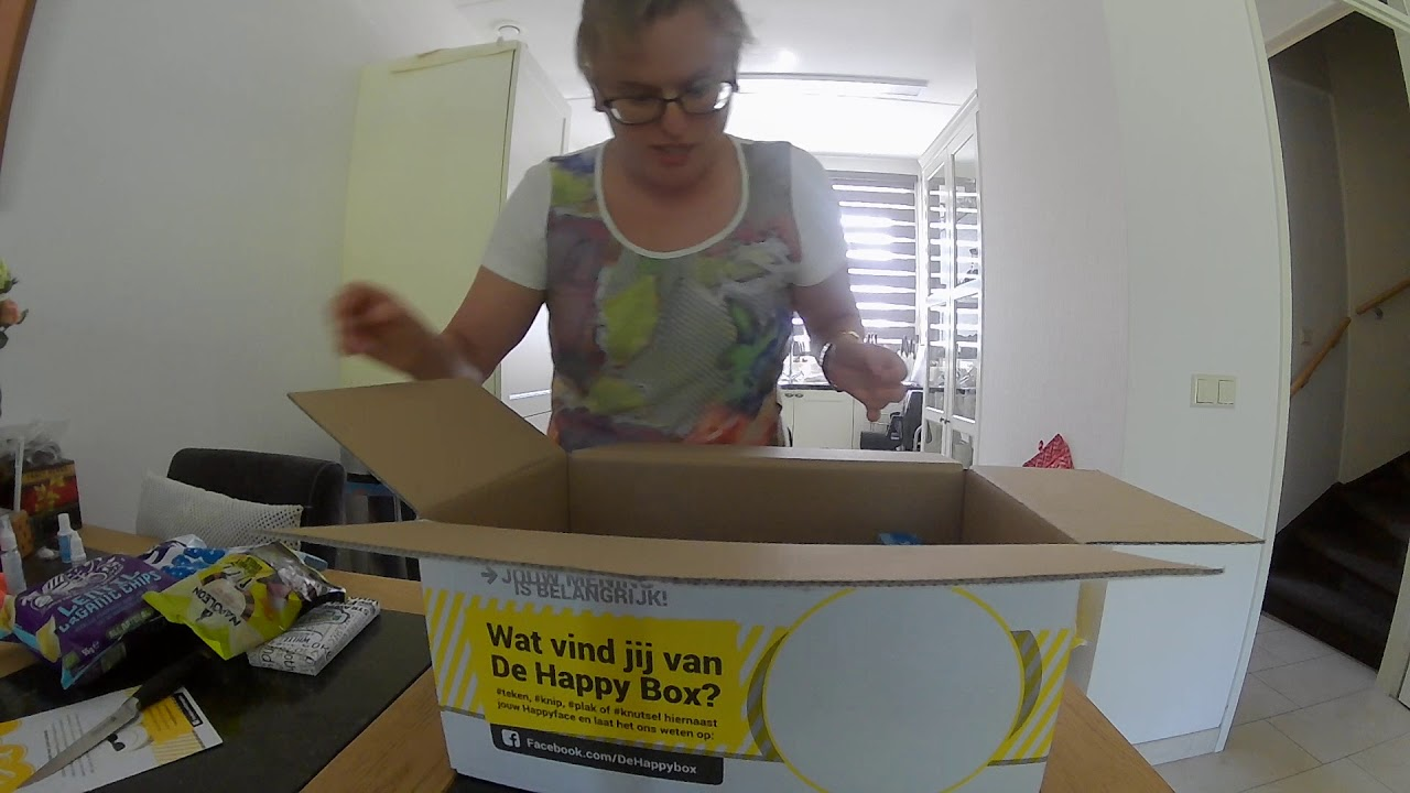 Unboxing The Happybox Mysterybox 1395 Youtube