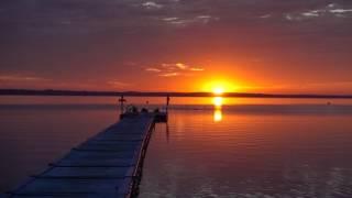 2017 08 06 5:33 ベラルーシ共和国 ナロチ湖の朝日