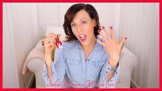 Sally Hansen Miracle Gel Nail Polish (Red-y, Set, Run!)