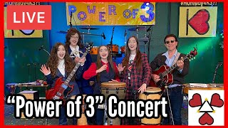 """K3 Sisters Band LIVE """"Power of 3"""" Concert 5/1/21"""