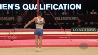 BELYAVSKIY David (RUS) - 2015 Artistic Worlds - Qualifications Floor Exercise