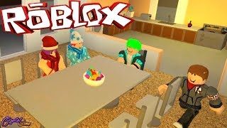 A CHRISTMAS DINNER | ROCITIZENS ROBLOX | CRYSTALSIMS