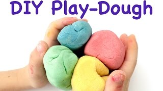 DIY Play-Dough - The Best Recipe!