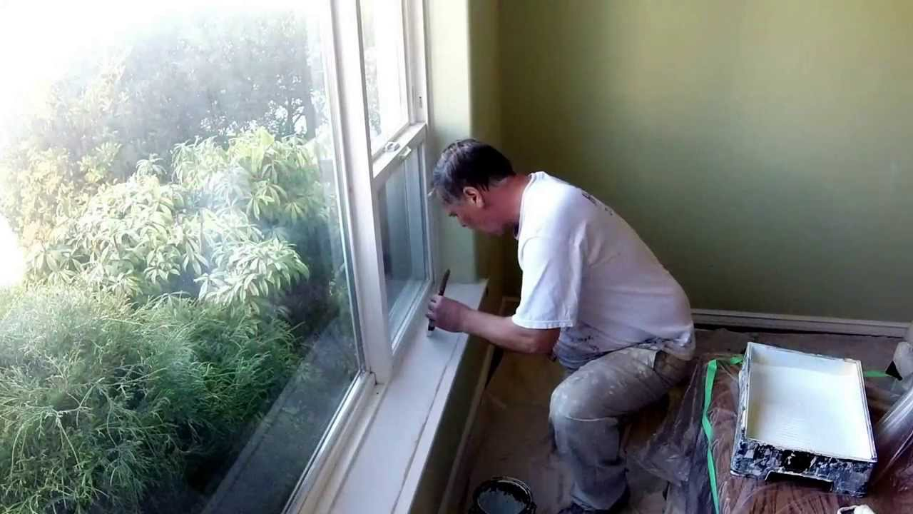How To Paint Interior Trim. Home Pro Painting
