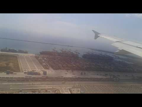 landing on  barcelona